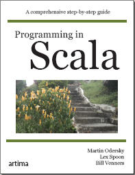 Programming in Scala cover